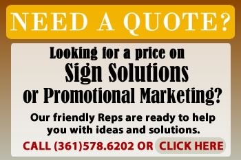 sign construction company in Victoria Texas