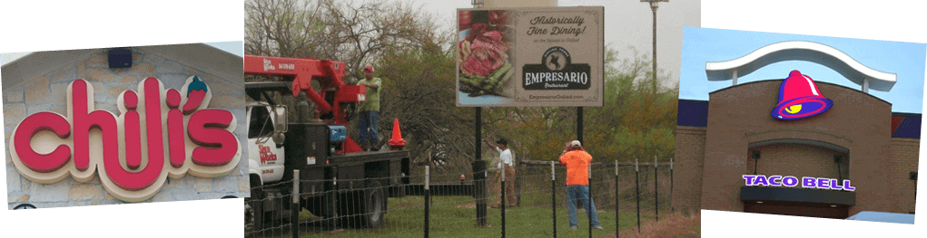 sign manufacture in Victoria Texas